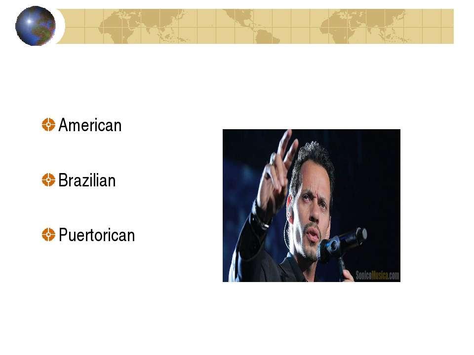 American Brazilian Puertorican
