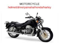 MOTORCYCLE helmet/drive/yamaha/honda/harley
