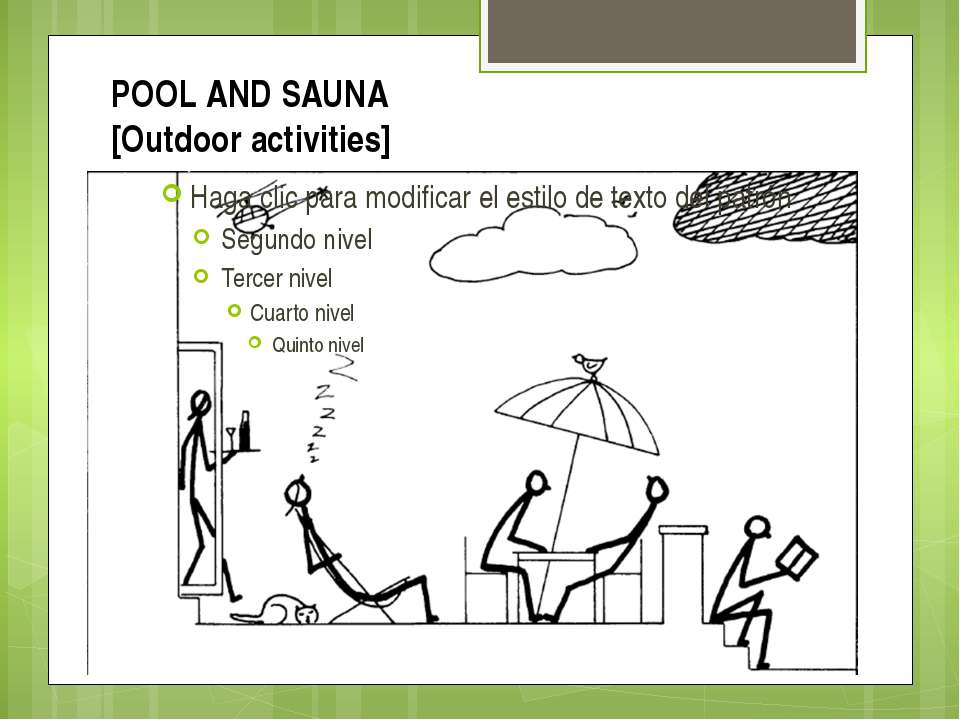 POOL AND SAUNA [Outdoor activities]