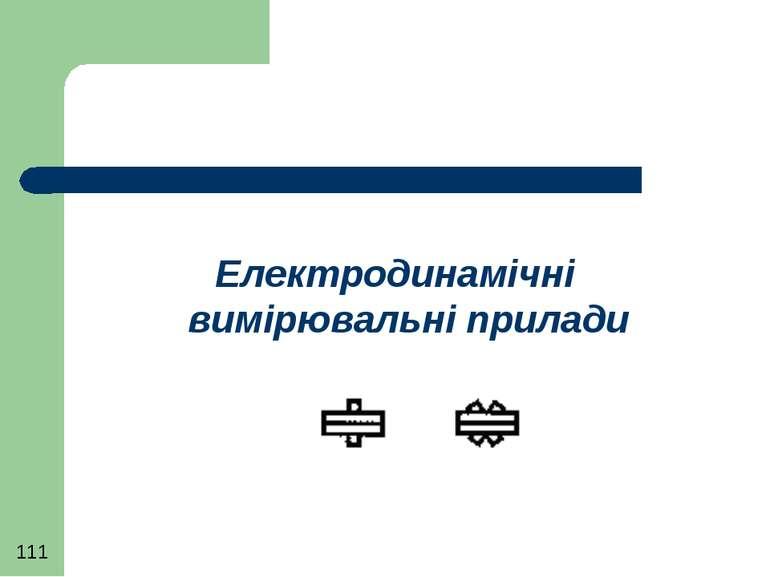 Електродинамічні вимірювальні прилади