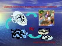 Соціальна компетентність як умова успішного розвитку особистості IQ РОЗВИТОК ...