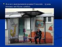 Для всіх шанувальників родини Сімпсонів – чудова німецька автобусна зупинка.