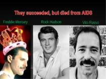 Freddie Mercury Rock Hudson Vito Russo