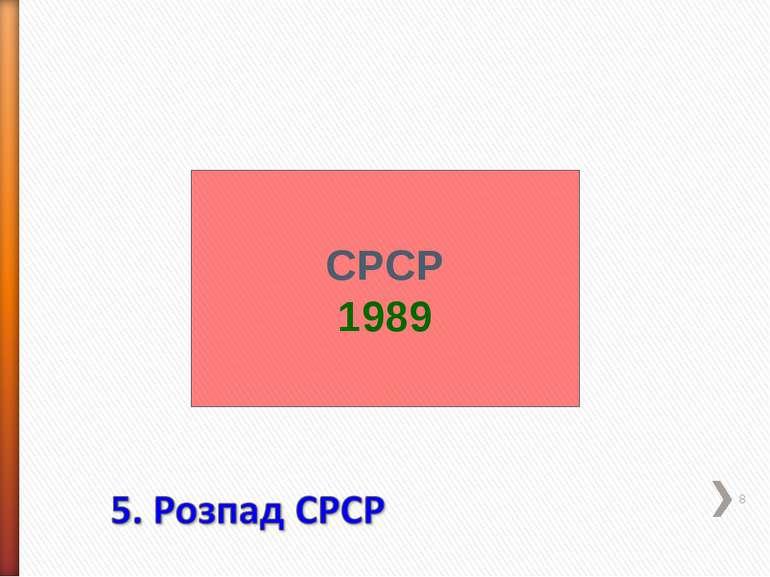 * СРСР 1989