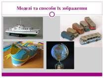 Моделі та способи їх зображення