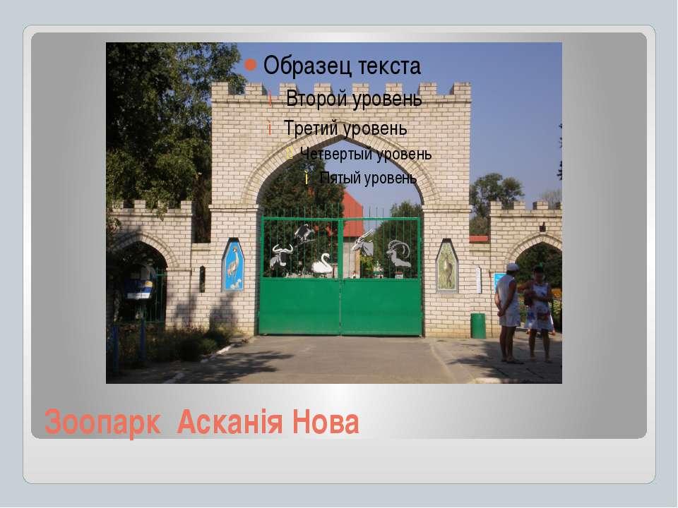 Зоопарк Асканія Нова