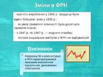 вартість виробленої у 1956 р. продукції була вдвічі більшою, аніж у 1936 р.; ...