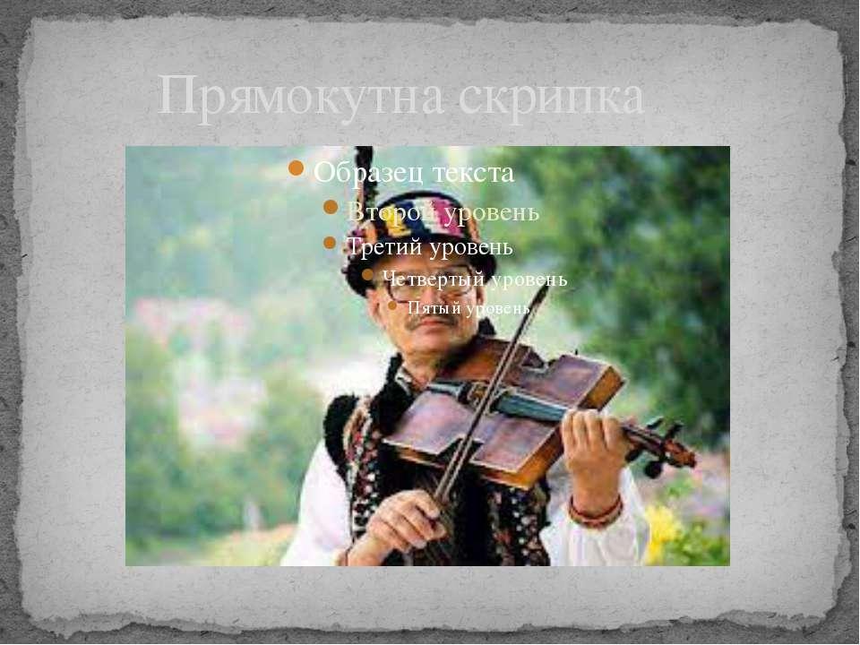 Прямокутна скрипка