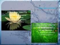 Вища водяна рослинність