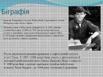 Біграфія Джордж Уокер Буш ( George Walker Bush ) народився 6 липня 1946 року ...