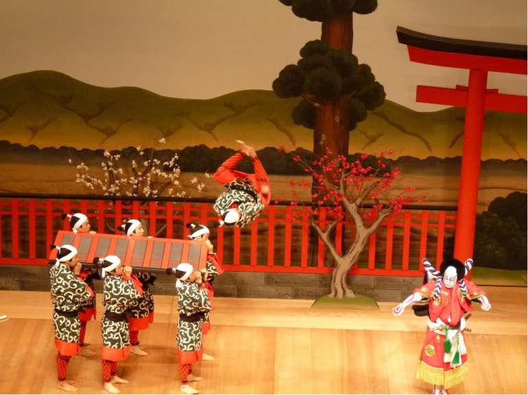 Кабуки в наши дни В современной Японии кабуки остаётся довольно популярным жа...