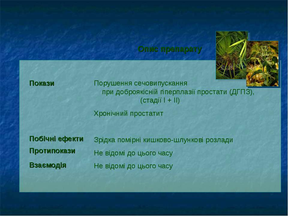Порушення сечовипускання при доброякісній гіперплазії простати (ДГПЗ), (стаді...