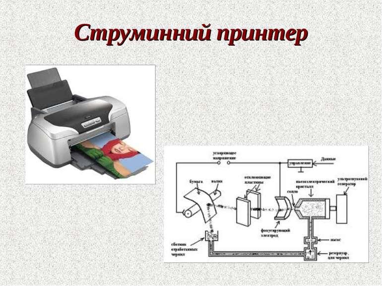 Струминний принтер