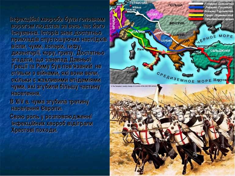 Інфекційні хвороби були головним ворогом людства за весь час його існування. ...