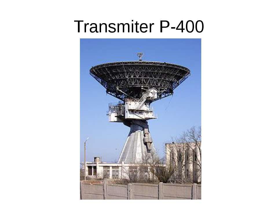 Transmiter P-400