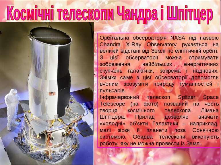 Орбітальна обсерваторія NASA під назвою Chandra X-Ray Observatory рухається н...