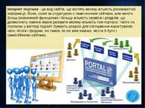 Інтернет портали - це вид сайтів, що містять велику кількість різноманітної і...