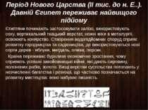 Період Нового Царства (II тис. до н. Е..). Давній Єгипет переживає найвищого ...
