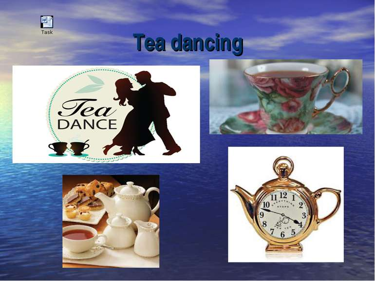 Tea dancing