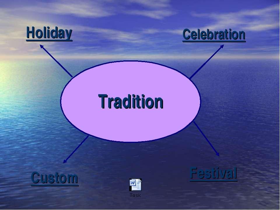 Tradition Custom Holiday Celebration Festival