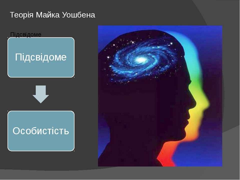 Теорія Майка Уошбена