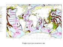 Морфоструктури океанічного дна
