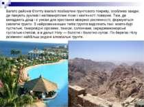 Багато районів Єгипту взагалі позбавлені грунтового покриву, особливо західні...