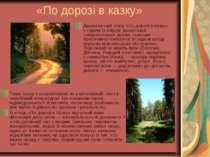 «По дорозі в казку» Драматичний етюд «По дорозі в казку» є одним із взірців у...
