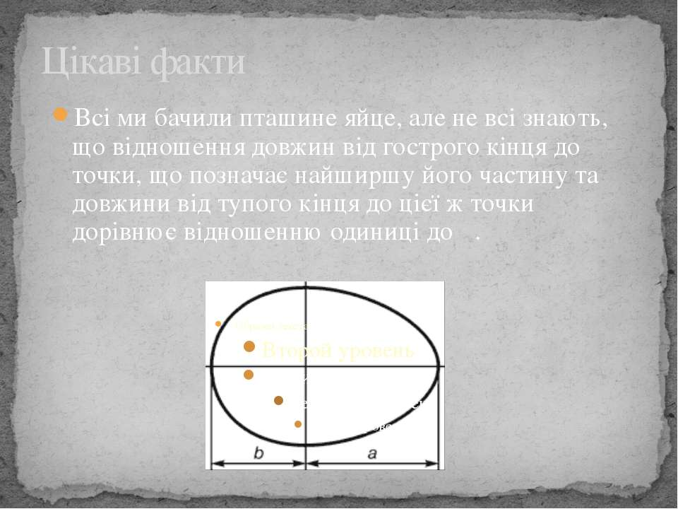 Божественна пропорція Але найдивовижніша особливість числа φ - це його роль я...