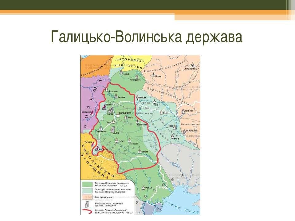 Галицько-Волинська держава