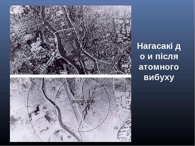 Нагасакідо и після атомного вибуху