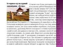 Історико-культурний заповідник «Буша» Сучасне село Буша знаходиться в Ям- пол...