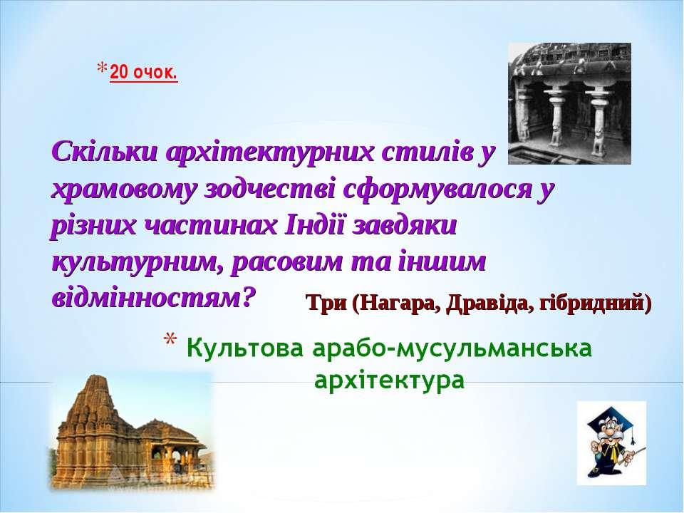 20 очок. Скільки архітектурних стилів у храмовому зодчестві сформувалося у рі...