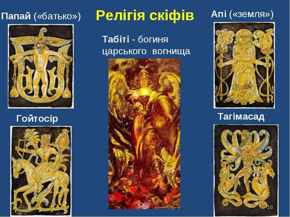 Табіті - богиня царського вогнища Папай («батько») Гойтосір Апі («земля») Таг...