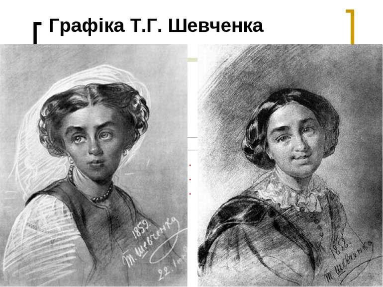 Графіка Т.Г. Шевченка