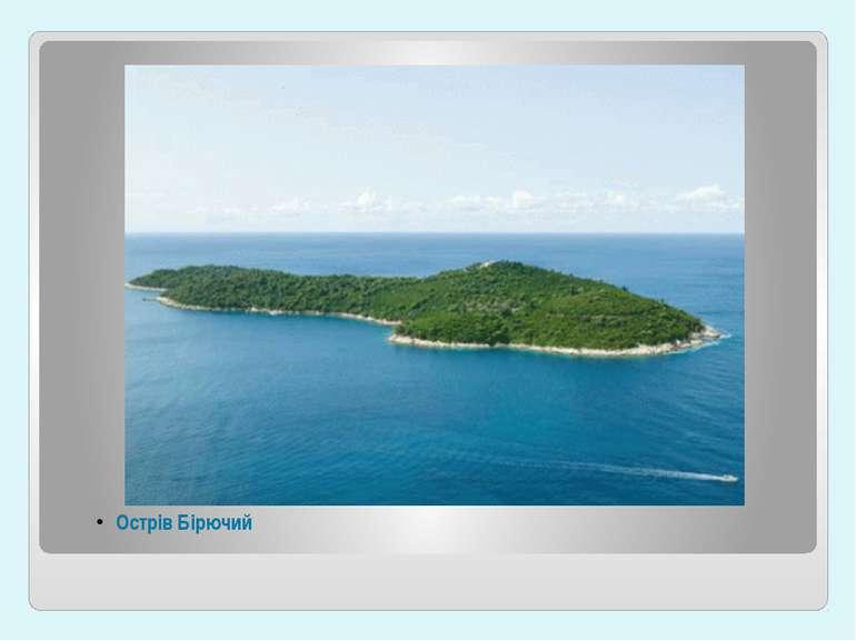 Острів Бірючий