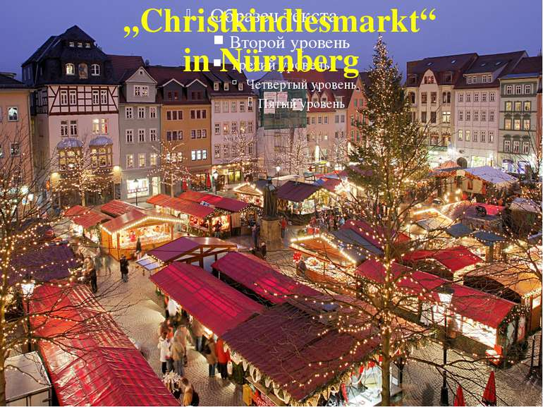 """""""Christkindlesmarkt"""" in Nürnberg"""