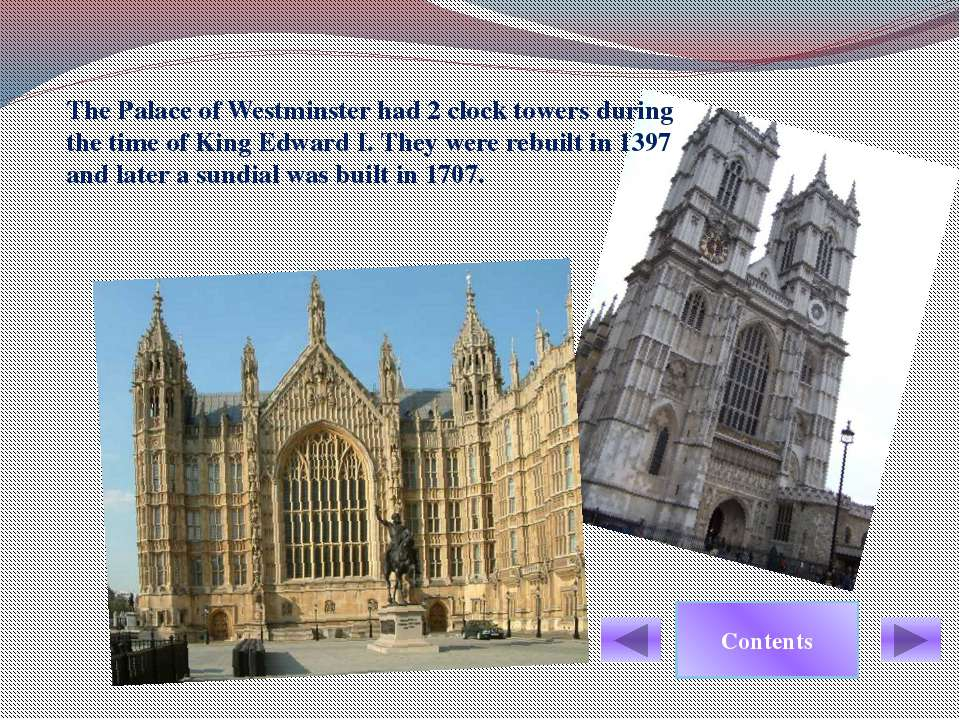 Only Westminster Hall remained. Contents