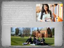 There are several ways to continue in education: universities, colleges, comm...