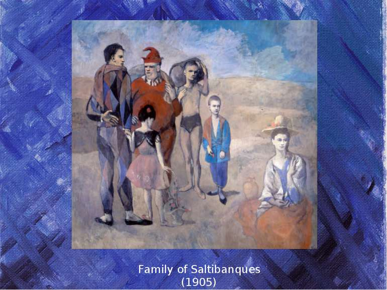 Family of Saltibanques (1905)