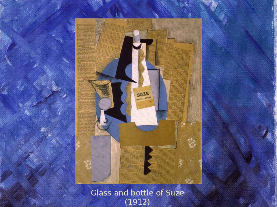 Glass and bottle of Suze (1912)