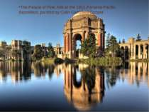 The Palace of Fine Arts at the 1915 Panama-Pacific Exposition, painted by Col...