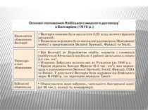 Основні положення Нейївського мирного договору