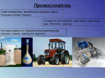 Промисловість Нафтопереробна, виробництво добрив (країни Перської затоки, Ізр...