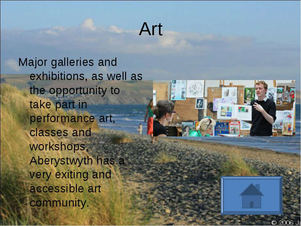 Art Major galleries and exhibitions, as well as the opportunity to take part ...