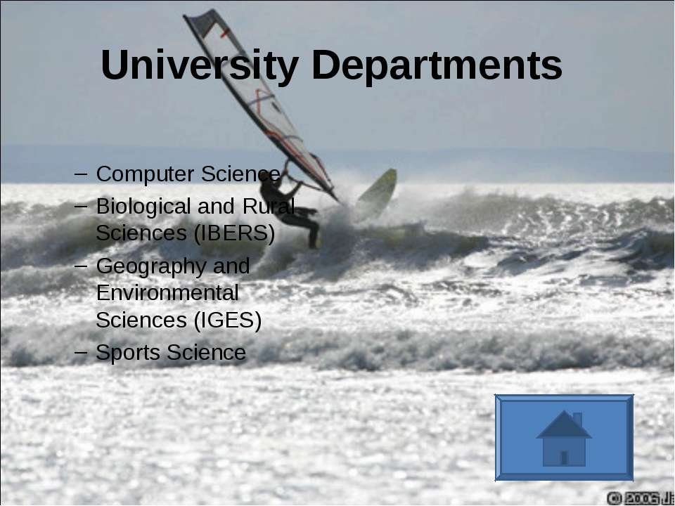 University Departments Computer Science Biological and Rural Sciences (IBERS)...