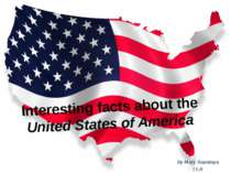Interesting facts about the United States of America