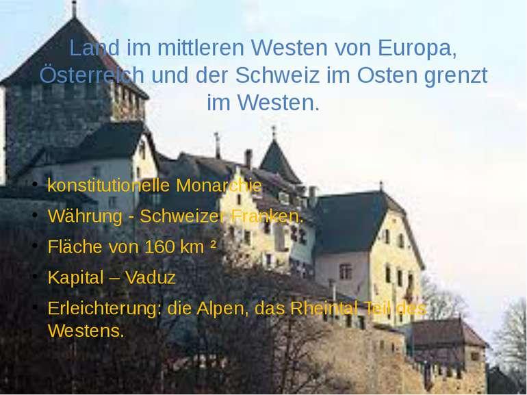 Land im mittleren Westen von Europa, Österreich und der Schweiz im Osten gren...