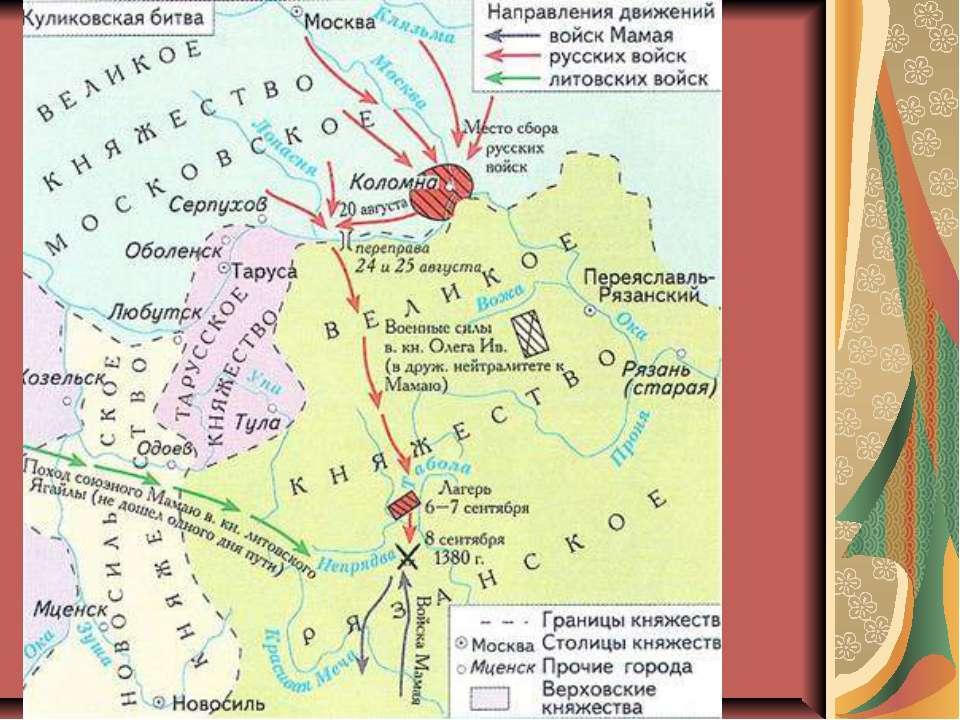 Боротьба з ординцями друга половина ХІV століття