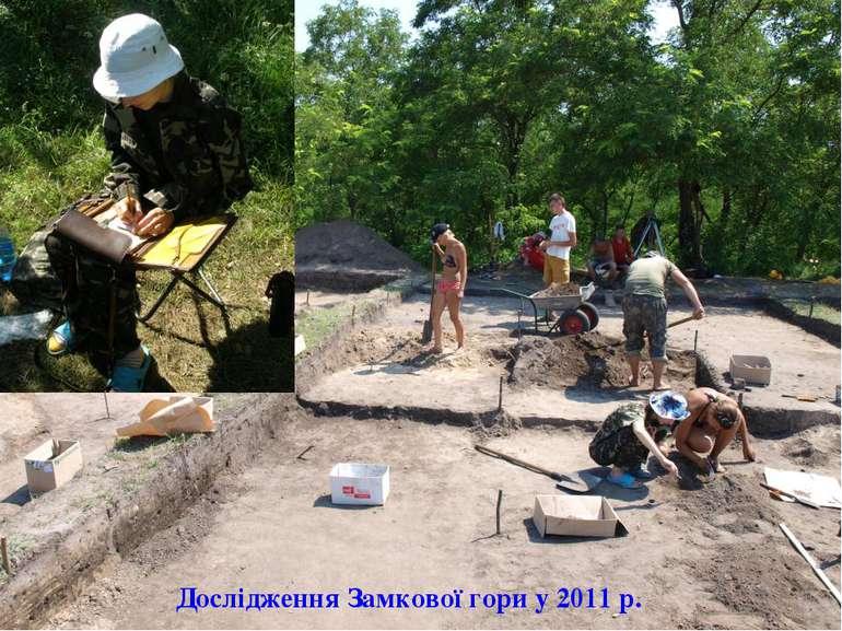 Дослідження Замкової гори у 2011 р.